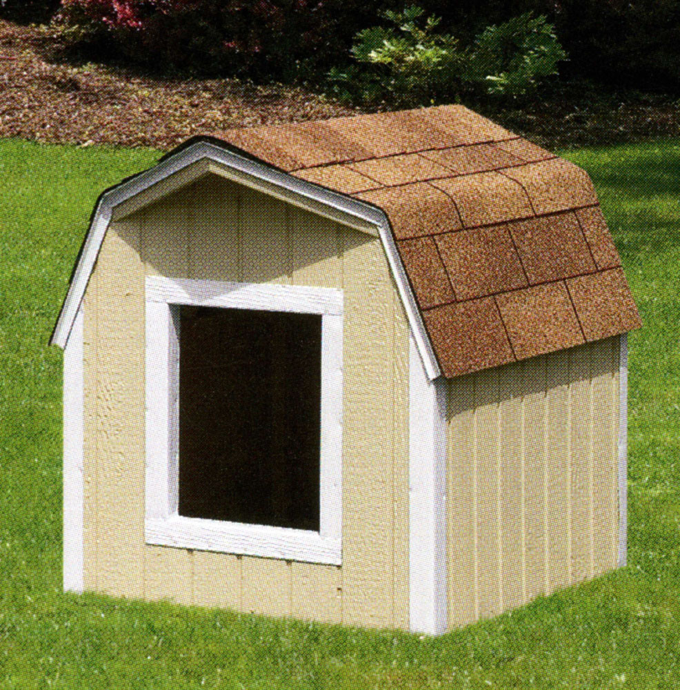 Bayhorse gazebos barns dog house extra large for 2 large dog house