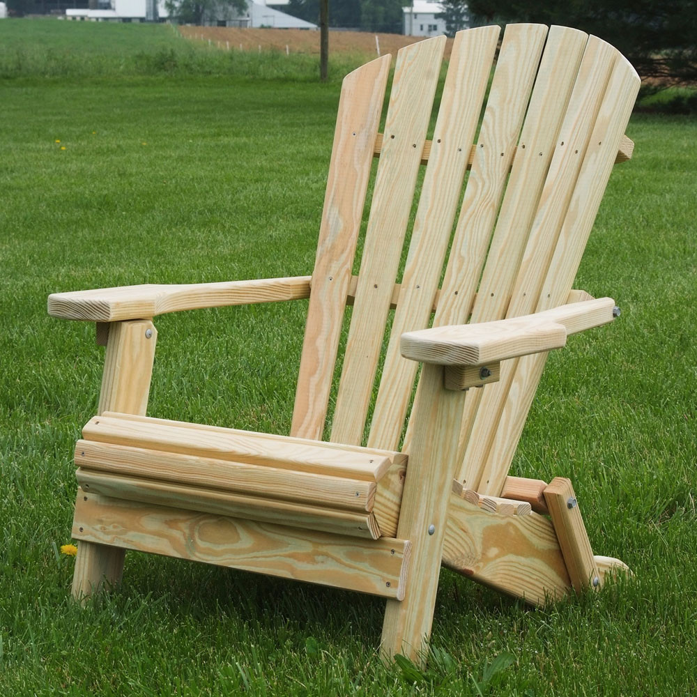 Bayhorse Gazebos & Barns Adirondack Folding Chair
