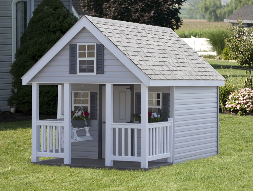 bayhorse gazebos barns 8 39 x 12 39 elite playhouse with ForPlayhouse With Porch Plans