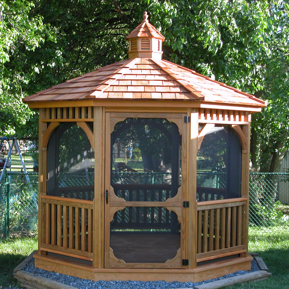 shedbosssheds in addition  in addition Octagon Wood Gazebo 8 Dutch Style Custom Order as well 128 together with Pole Building Photos. on custom barns