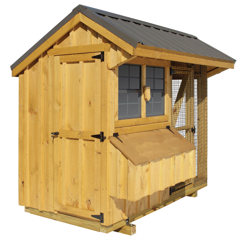 Bayhorse Gazebos Barns Chicken Coop Combination 4 39 X
