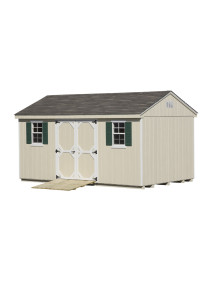 7' Cottage Shed 10' x 16' Duratemp - Custom Order
