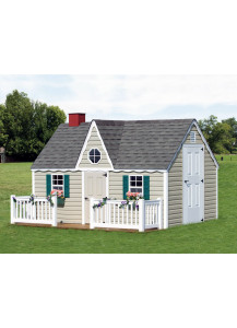 Victorian Playhouse with Deck