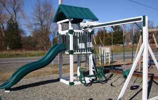 Playset at our Red Hook, NY Location
