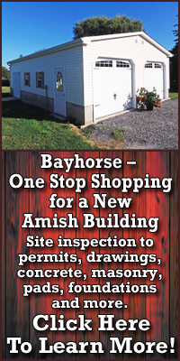 One Stop Shopping for a New Amish Building