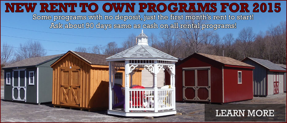 New Rent To Own Programs for 2015