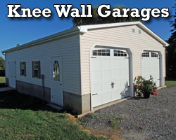 Knee Wall Garages