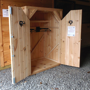 Double-Door Saddle Cabinet