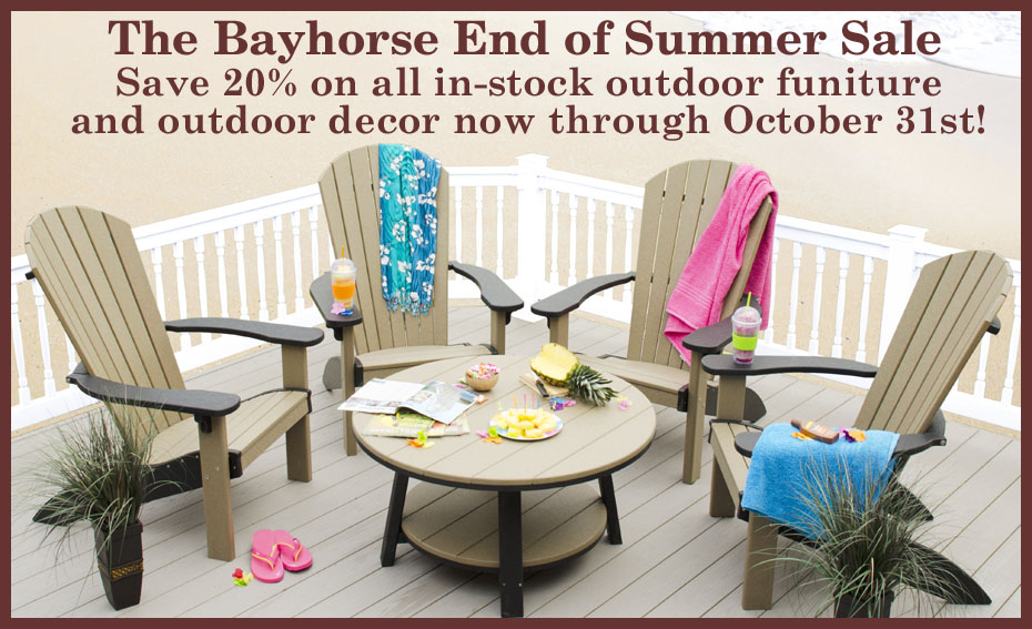 The Bayhorse End of Summer Sale