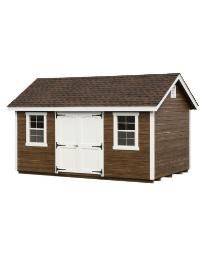 Clapboard Classic Cottage Shed 10' x 10' - Custom Order