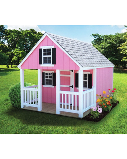 8' x 10' LP SmartSide A-Frame Playhouse with Porch - Custom Order