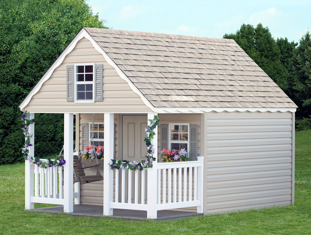 Bayhorse Gazebos Amp Barns 8 X 10 A Frame Playhouse With