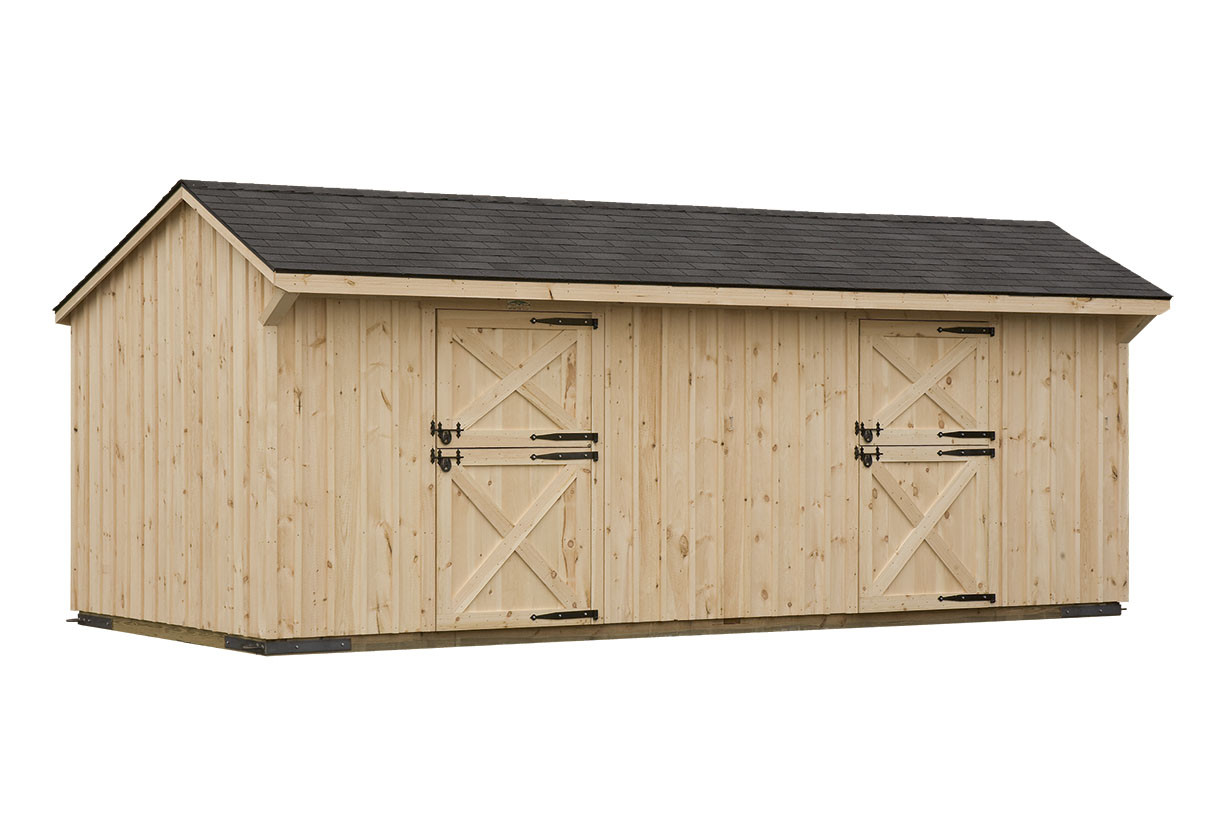 Bayhorse Gazebos Barns Pine Board Batten Shed Row Barn