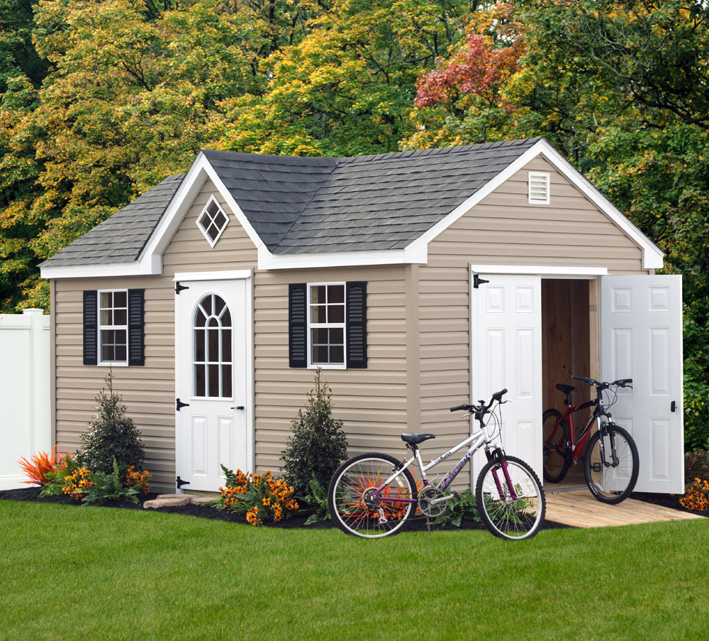 lean edge to doors roof download siding shed sheds vinyl drip