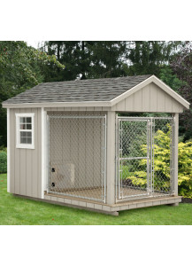 Dog Kennel - A-Frame 6' x 10' Duratemp - Custom Order