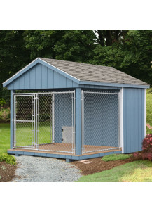 Dog Kennel - A-Frame 8' x 10' Duratemp - Custom Order