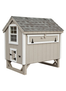 Chicken Coop - A-Frame 4' x 6' Duratemp - Custom Order