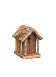 Amish-Made Chalet Birdhouse