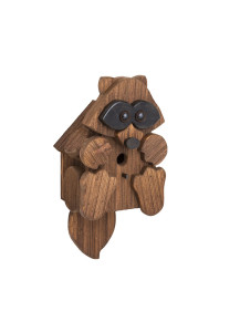 Amish-Made Raccoon Birdhouse
