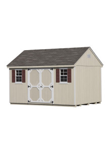 Duratemp 7' Cape Shed 10' x 10' - Custom Order