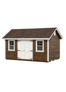 Clapboard Classic Cottage Shed 12' x 24' - Custom Order