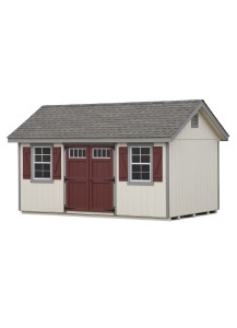 Duratemp Classic Cottage Shed 10' x 16' - Custom Order
