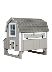Chicken Coop - Dutch 4' x 6' Duratemp - Custom Order