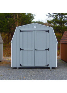 Economy Mini Barn 8' x 8' Duratemp - Custom Order