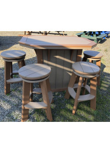 Finch Furniture Bar and 4 Stool Set - FFP4121
