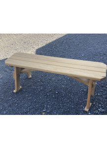 "Finch 54"" Extra Wide Wood Bench"