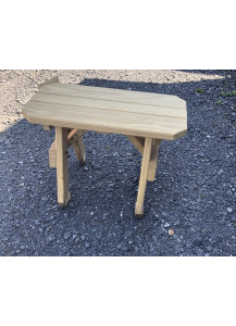 "Finch 28"" Extra-Wide Wood Bench"