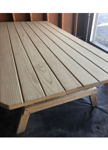 """Finch 43"""" x 96"""" Plain Top Wood Table - FFW915"""