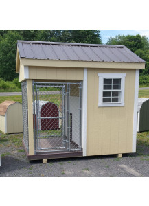 6' x 8' Traditional Dog Kennel - G063423