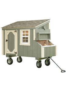 Chicken Coop - Lean-To 3' x 5' Duratemp - Custom Order