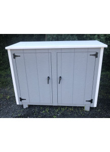 Large Two Can Trash Shed