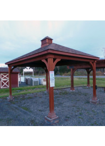 12' x 16' Traditional Wood Pavilion