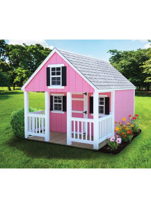 10' x 18' LP SmartSide A-Frame Playhouse with Porch - Custom Order