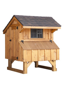 Chicken Coop - Quaker 3' x 4' Board and Batten - Custom Order