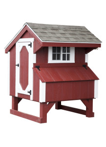 Chicken Coop - Quaker 3' x 4' Duratemp - Custom Order