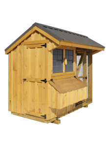 Chicken Coop - Combination 4' x 8' Board and Batten - Custom Order