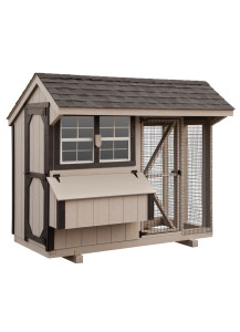 Chicken Coop - Combination 4' x 8' Duratemp - Custom Order