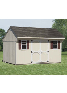LP SmartSide Quaker Shed 12' x 16' - Custom Order