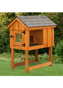 Rabbit Hutch - Board and Batten A-Frame Single - Custom Order