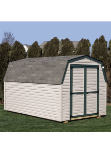 Vinyl Mini Barn 8' x 12' - Custom Order