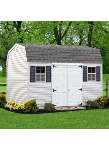 Vinyl Dutch Barn 12' x 14' - Custom Order