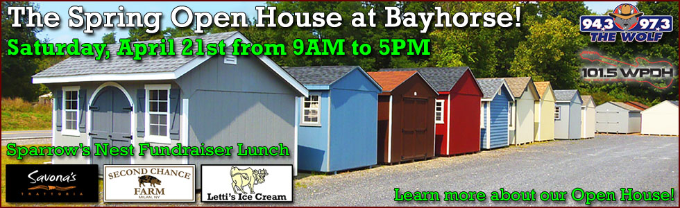 2018 Bayhorse Spring Open House Event