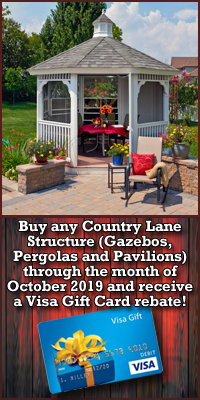 Country Lane Rebate Offer - 2019 October
