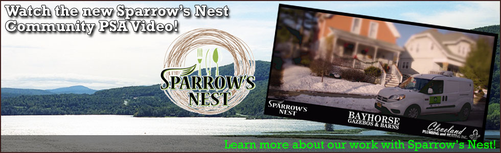 2018 Sparrow's Nest Community PSA 980x300