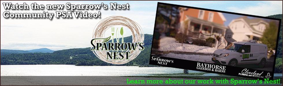 2018 Sparrow's Nest Community PSA 980x300