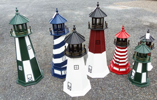 Lighthouses at our Red Hook, NY location